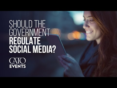 Why the Government Should Not Regulate Content Moderation of Social Media