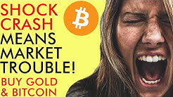 Shock Oil Crash Could Mean BIG TROUBLE For Markets - Buy Bitcoin & Gold