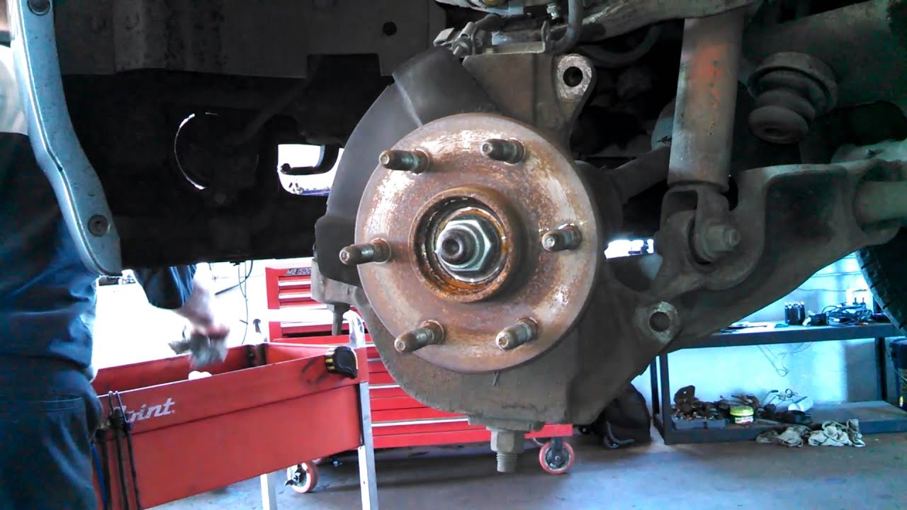 Wheel Bearing Assembly Replacement 2005 Gmc Yukon Denali
