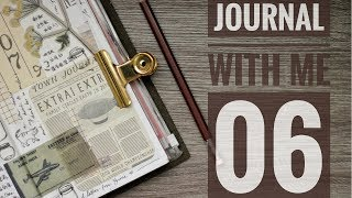 Journal With Me 06 | Lollalane | Midori Traveler's Notebook