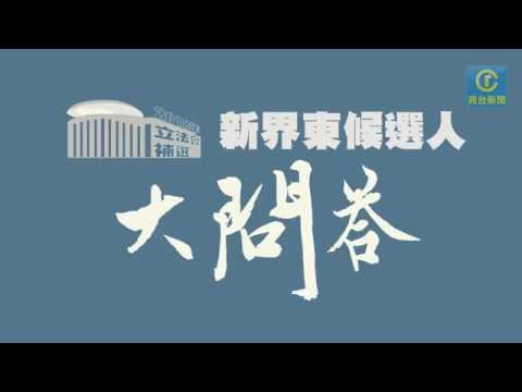 【立法會補選】新界東候選人大問答!