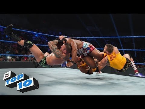Top 10 SmackDown LIVE moments: WWE Top 10, August 27, 2019