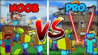 NESKUTEČNÁ VÝZVA NOOB VS PRO Vězení v Minecraftu!