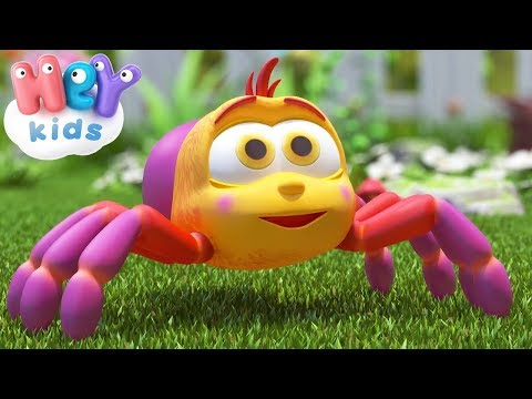 Cantec nou: The Itsy Bitsy Spider song + more nursery rhymes  HeyKids