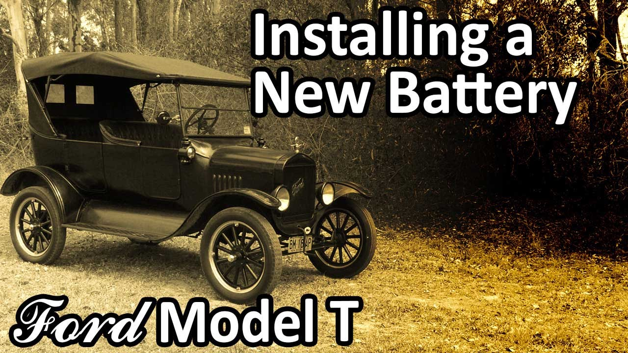medium resolution of ford model t installing a new battery