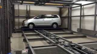 Stacker parking system DRS