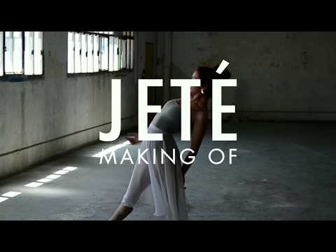 Making of Jeté, a fashion film