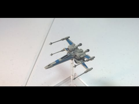Star Wars: X-Wing - The Force Awakens: Reviewing The New T-70 X-Wing