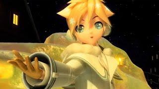 Hatsune Miku Project DIVA Future Tone PV Snowman Len ver Romaji English Subs