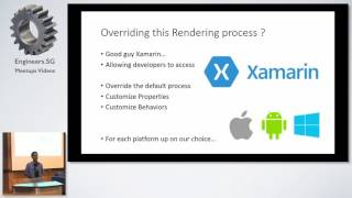Introduction to Xamarin.Forms custom renderers - .NET Developers Singapore