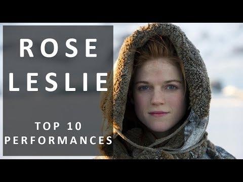 Top 10 Rose Leslie Performances