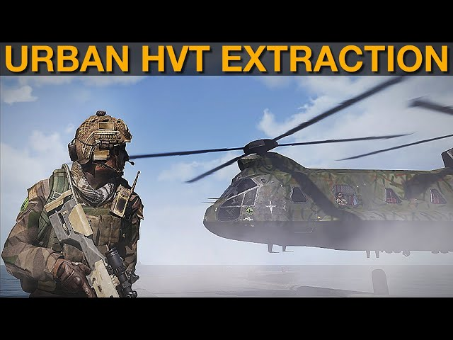 Specter Campaign: DAY 17 Securing Rooftop HVT | Arma 3