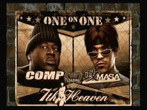 Def Jam Fight for NY - Comp vs Masa @ 7th Heaven (HARD)