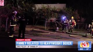 Fire Damages Chandler Family Home Of Late Boxer Zora Folley