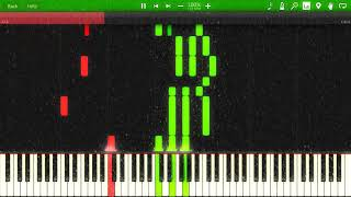 Frosty the Snowman [Synthesia Piano Tutorial]