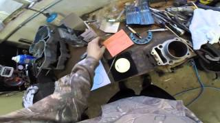 How To Install Piston Rings On a 4 Stroke Piston