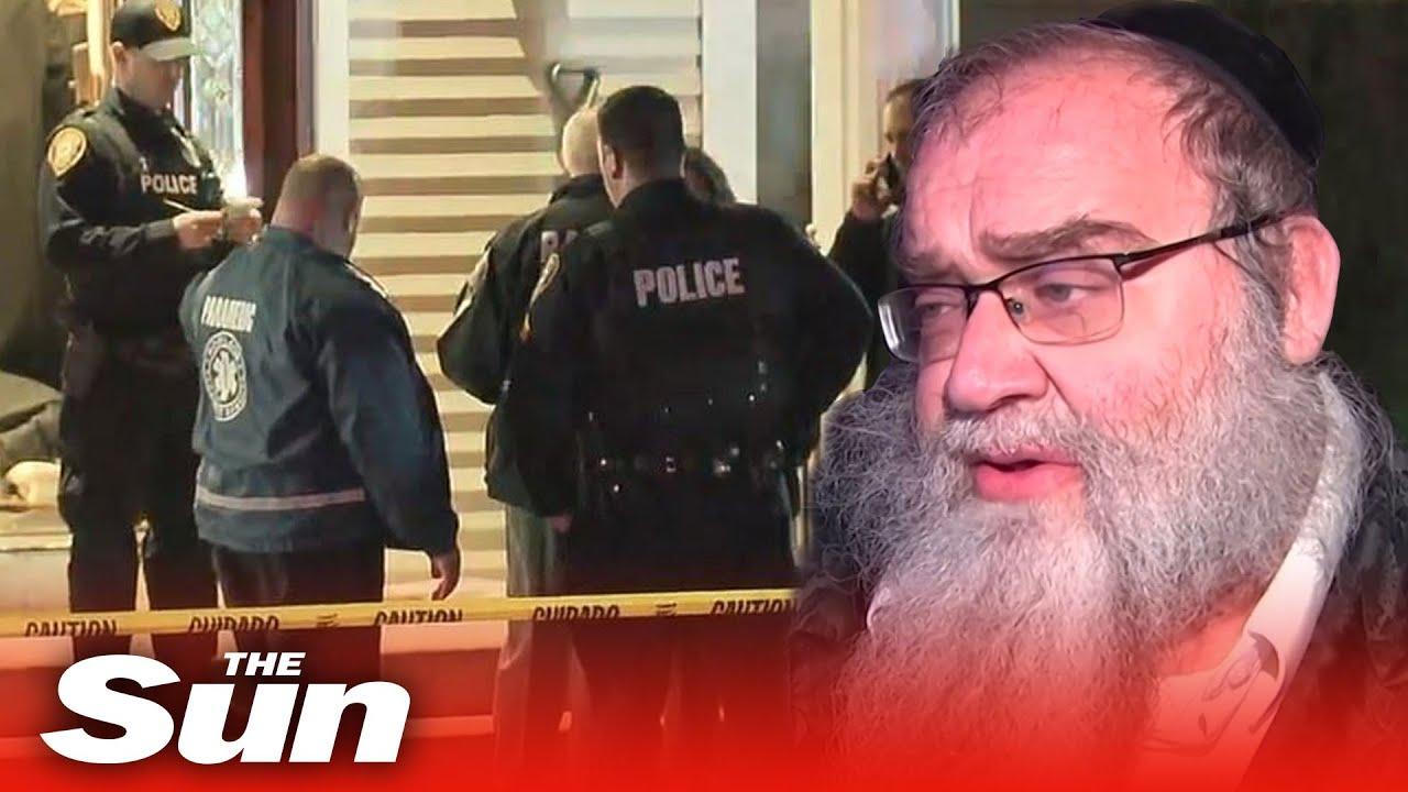 Stabbing at rabbi's house was 'domestic terrorism'