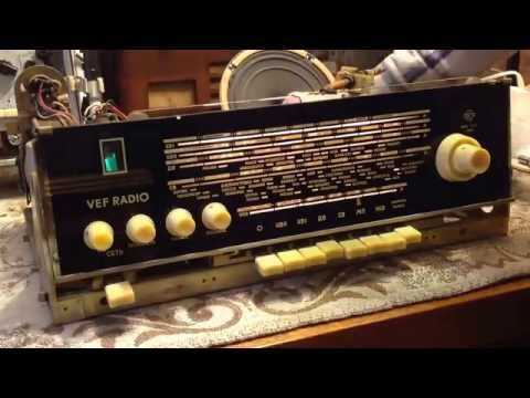 VEF RADIO - made in Latvia, Riga, VEF, 1965 year