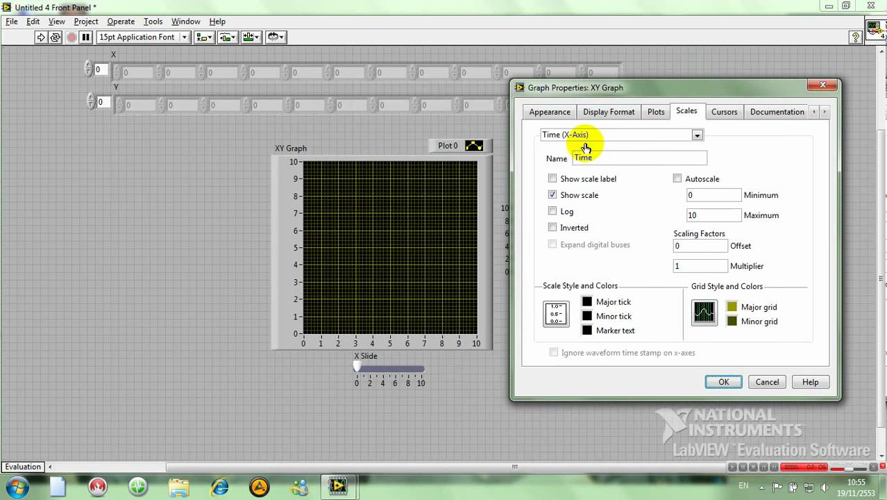 LabVIEW 3 1 XY Graph