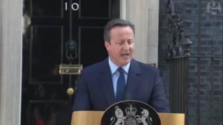 David Cameron resigns as British Prime Minister