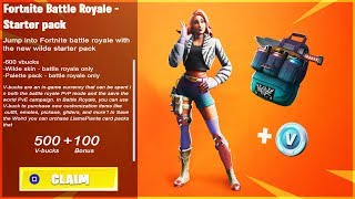"How to Get ""WILDE STARTER PACK"" FREE in Fortnite! New ""WILDE STARTER PACK"" Leaked (Starter Pack 7)"