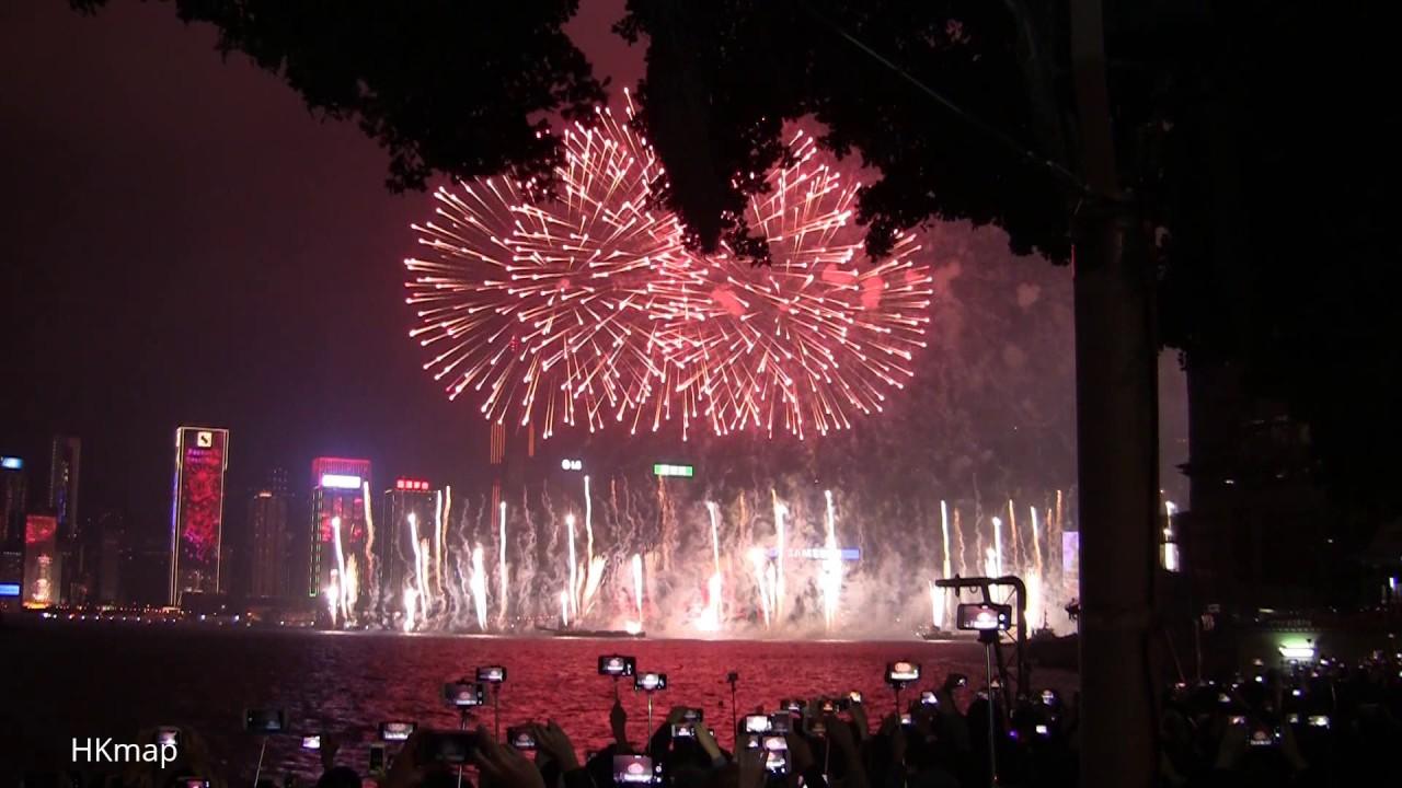 happy new year countdown 2017 hong kong