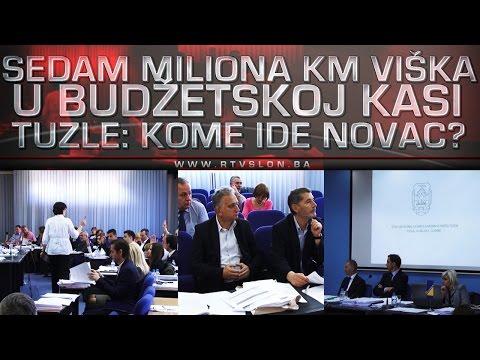 Sedam miliona KM viška u budžetskoj kasi Tuzle: Kome ide novac? - 26.04.2017.