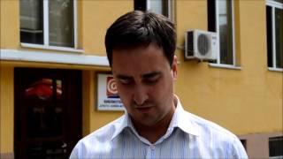 Пратеникот Славе Гошев во посета на Струмичката библиотека, (02.09.2013)
