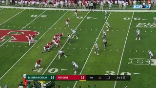 Rutgers Falls To Eastern Michigan