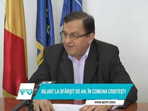 BILANȚ LA SFÂRȘIT DE AN ÎN COMUNA CRISTEȘTI - 2018