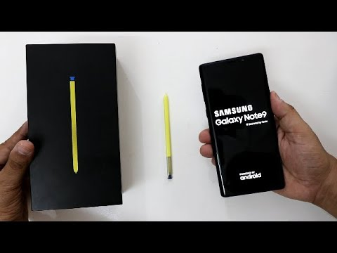 Samsung Galaxy Note 9 Unboxing And Overview I Hindi