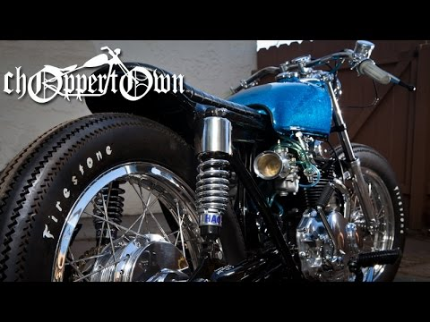 Skyler (pilot episode of Bike & Builder series from Choppertown)