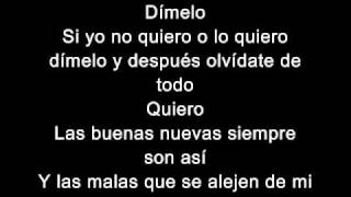 Download Enrique Iglesias- Dimelo (Lyrics- Letras) Mp3 and Videos