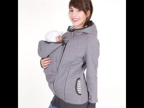 Baby Carrier Jacket Kangaroo Hoodies