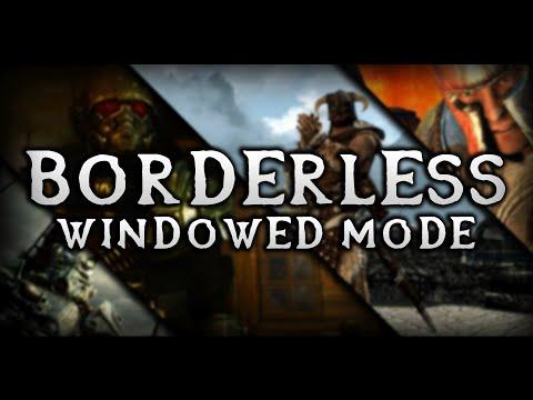 Borderless Windowed Mode for FO3, FNV, Skyrim, & Oblivion!!! (OneTweak)