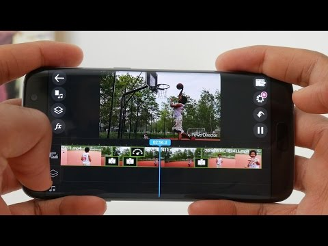 Android Video Schnitt App - PowerDirector Mobile