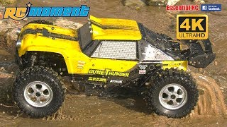 Waterproof 4WD RTR *DUNE THUNDER* RC Off-Road Buggy Truck:ESSENTIAL RC DRIVE TEST [*UltraHD and 4K*]