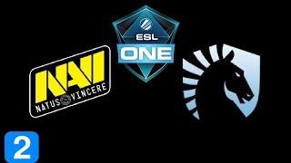 Navi vs Liquid Game 2 ESL One Genting 2018 Highlights Dota 2
