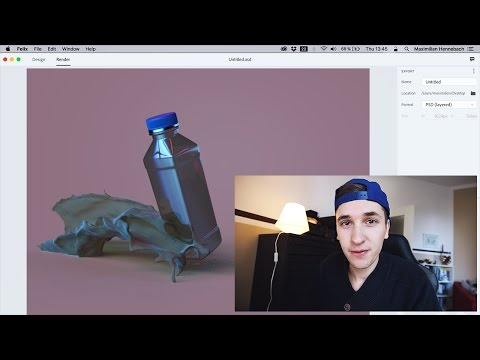 Becoming a 3D Designer? Adobe Project Felix First Look