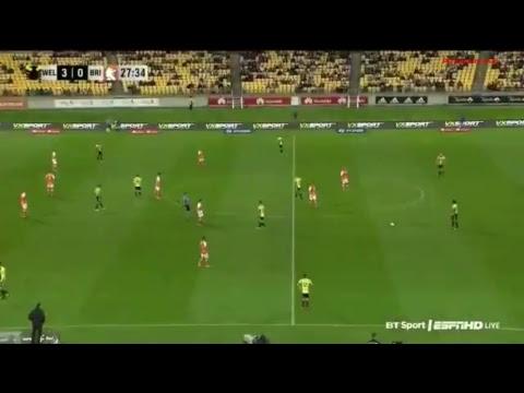 Wellington Phoenix vs Brisbane Roar live stream Australia A League 27.10.2017