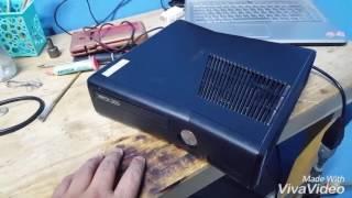 Reparacion de xbox slim placa trinity error 0101