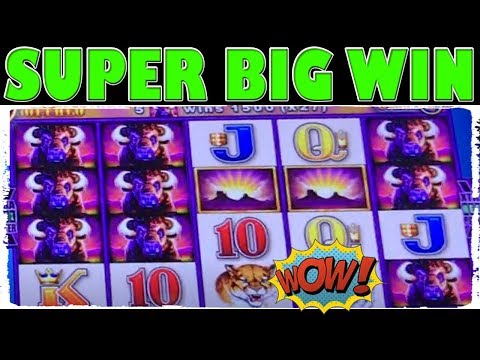 ★ SUPER BIG WIN ★ BUFFALO WONDER 4 ★ CRAZY WINS MAX BET ★ SLOT MACHINE ★