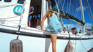 BRILLIANT Simplicity ~ A 78-ft Custom-Built Steel Ship, Created by her Crew - Bums on a Boat Ep 158
