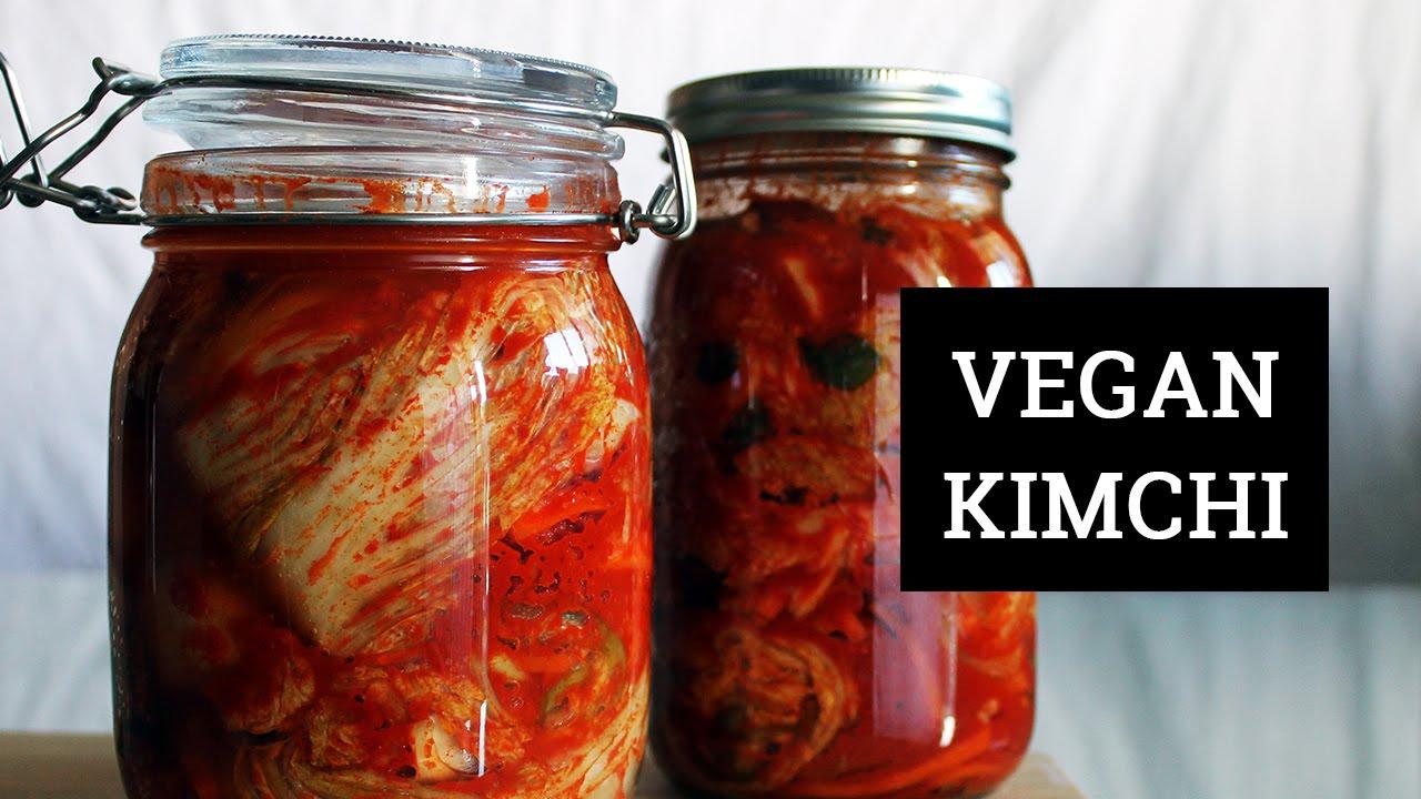 HOW TO MAKE VEGAN KIMCHI   Mary's Test Kitchen