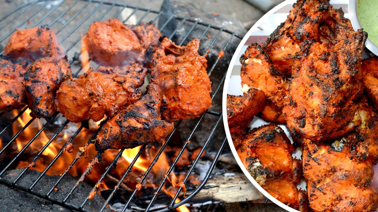 Tandoori Chicken without Oven - How to make Chicken ...