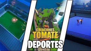 Deportes - Fortnite Creaciones Tomate - Episodio 20