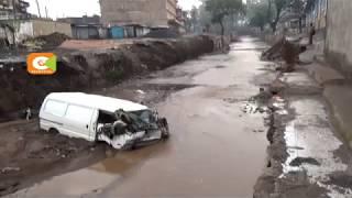 Flash floods hit Narok town again
