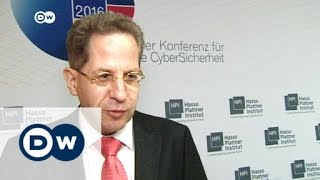 Hans-Georg Maaßen über Cybersicherheit | DW Nachrichten