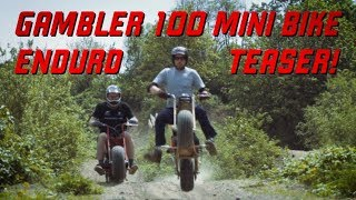 Gamber 100 Mini Bike Enduro Race   TEASER TRAILER!