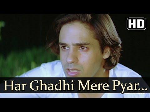 Har Ghadi Mere Pyar (Male) - Pyaar Ka Saaya Songs - Rahul Roy - Sheeba - Kumar Sanu